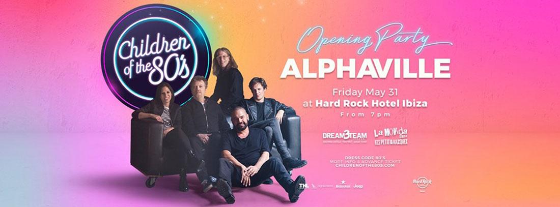 Alphaville en el Opening de Children of the 80's en Hard Rock Hotel Ibiza