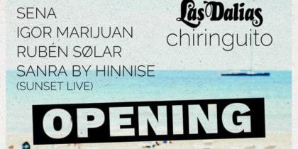 Opening de Les Dàlies Xiringuito Lifestyle