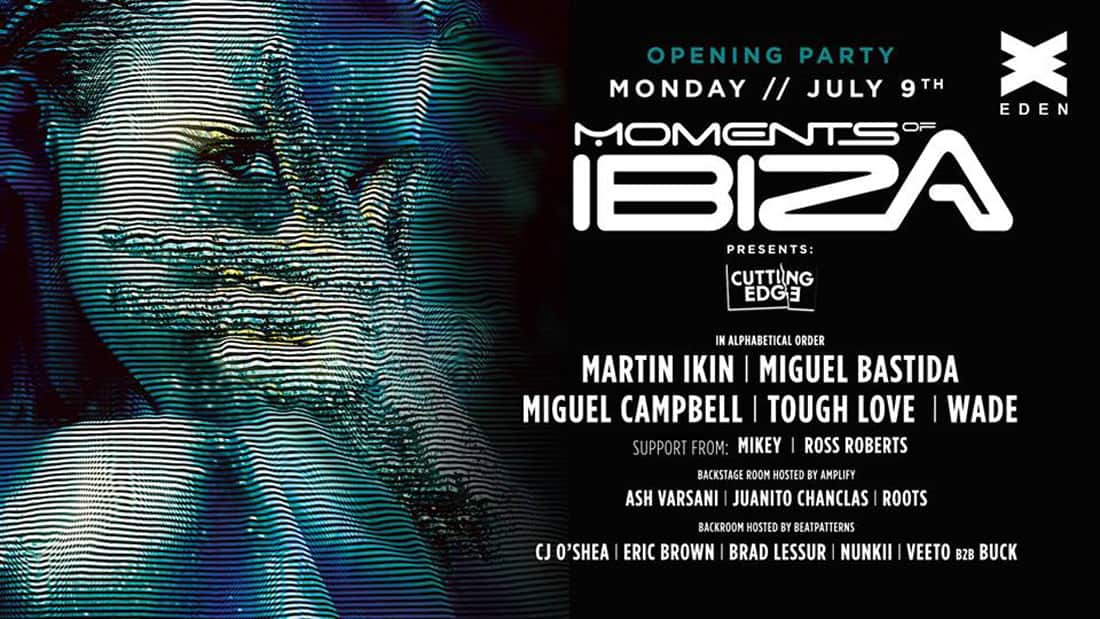Opening of Moments of Ibiza in Eden Ibiza