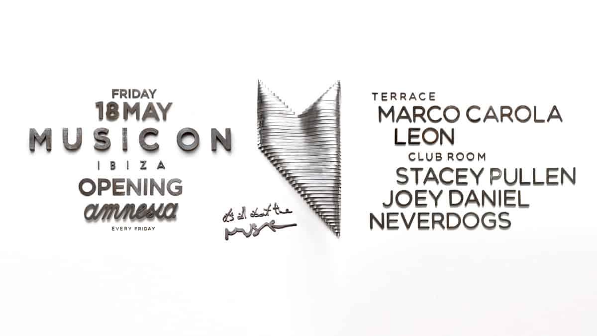 Opening Music On 2018 at Amnesia Ibiza