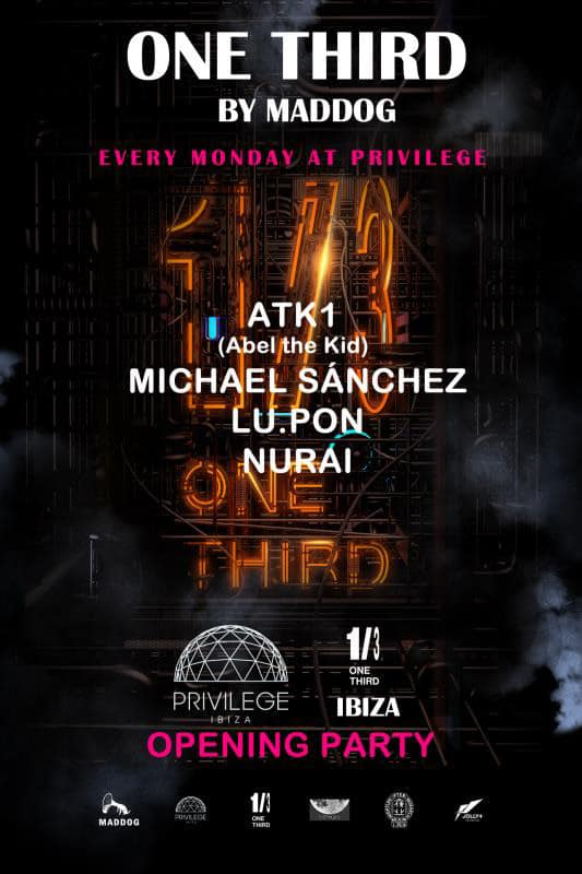 Opening de One Third en Privilege Ibiza
