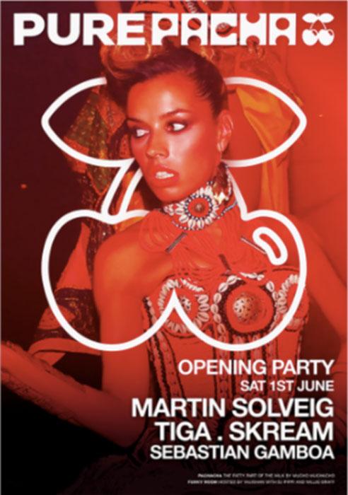 Opening of Pure Pacha in Pacha Ibiza