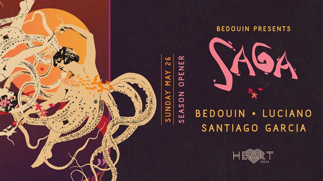 Opening de Saga de Bedouin en Heart Ibiza