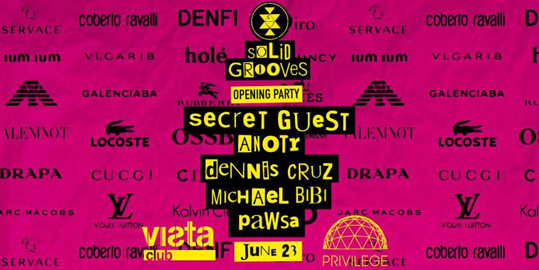 Opening de Solid Grooves en Privilege Ibiza