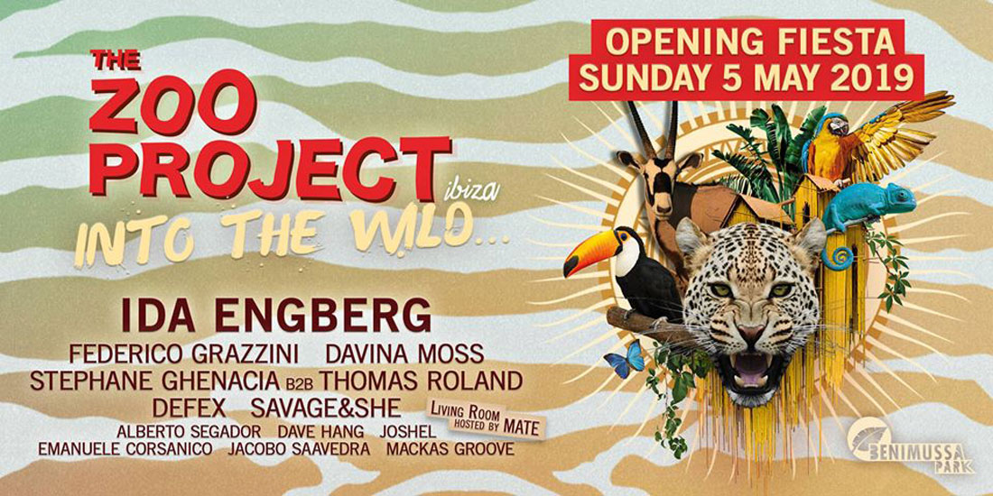 The Zoo Project Ibiza Opening Party en Benimussa Park Ibiza
