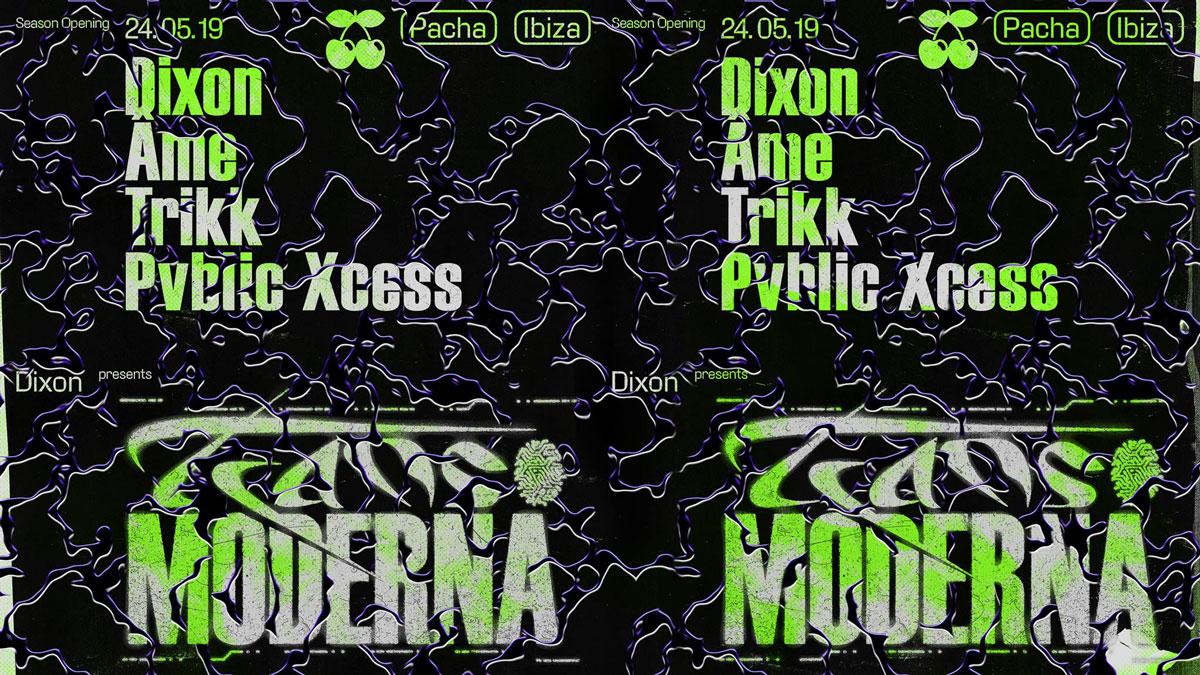 Opening de Transmoderna de Dixon en Pacha Ibiza