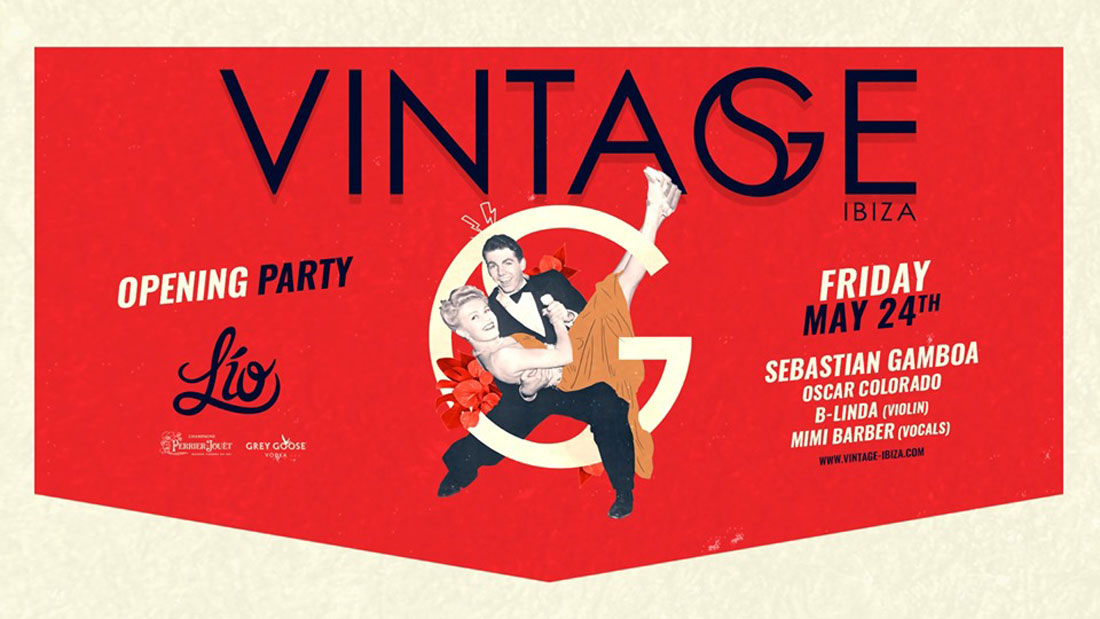 Vintage opening at the Lío Ibiza club
