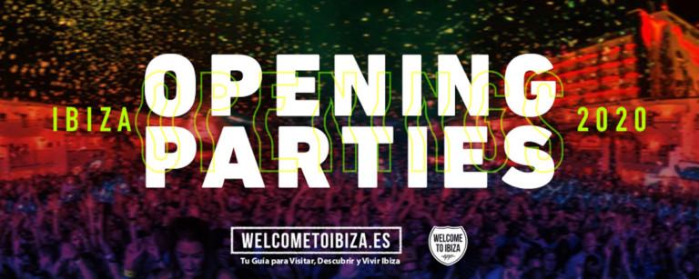 Открытие вечеринки Ibiza 2020