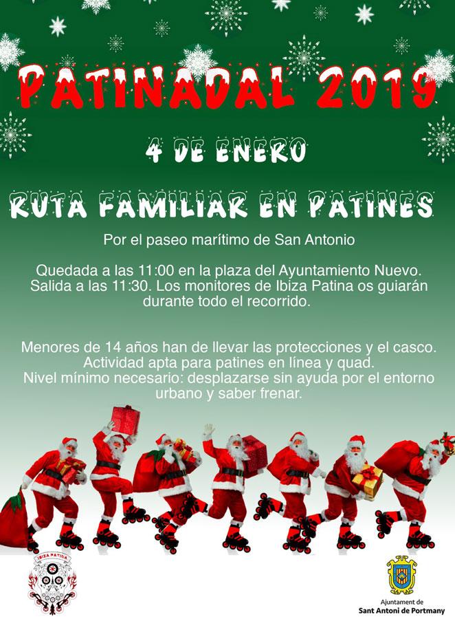 Рождественские коньки и семья: готов к Patinadal