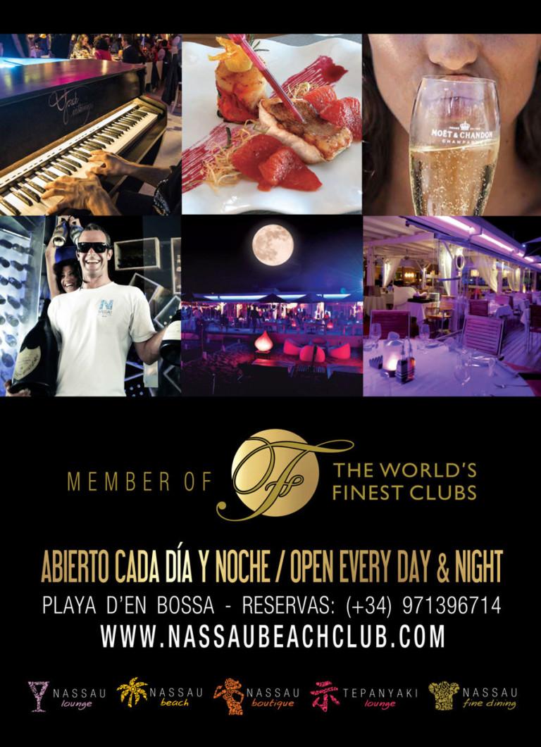 Piano Nights en Nassau Beach Club Ibiza