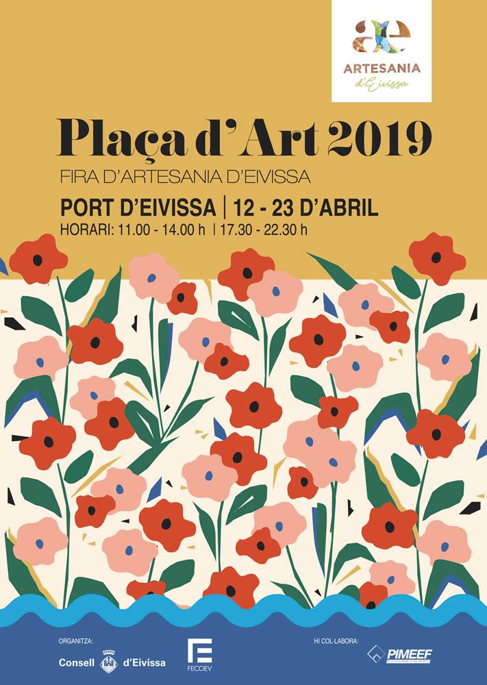 Plaça d'Art 2019: Die Handwerksmesse zieht in den Hafen von Ibiza