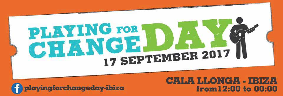 Konzertsonntag mit dem Playing for Change Day 2017 in Cala Llonga