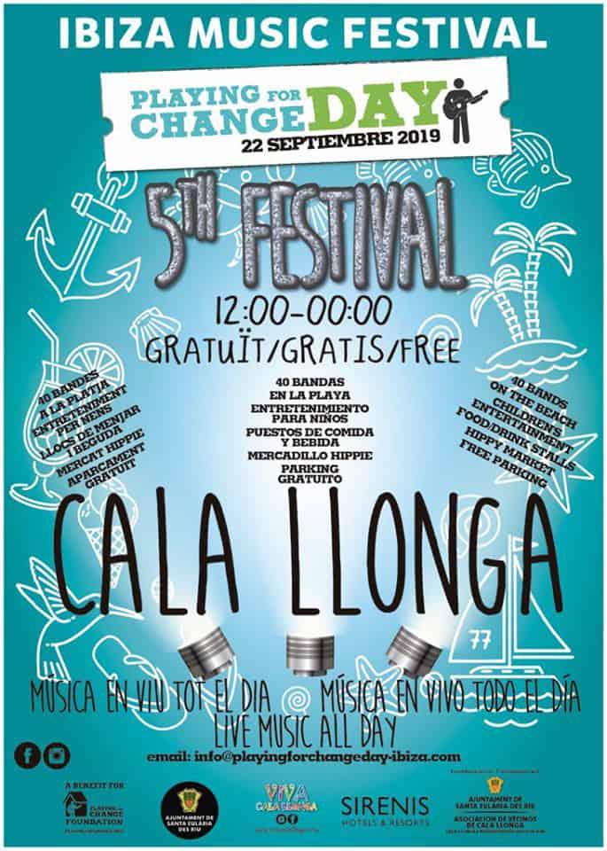 Игра на день перемен в Кала Ллонга: День концертов на пляже!