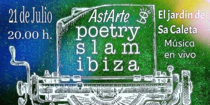 Poésie Slam avec musique live à AstARTE d'El Jardín de Sa Caleta Ibiza Culture