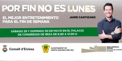 Het is eindelijk geen maandag, het programma van Jaime Cantizano wordt opgenomen in Ibiza Activities