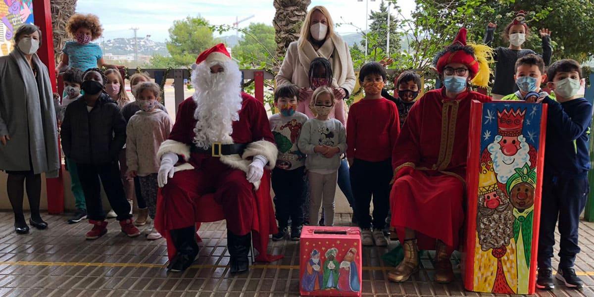 Els escolars d'Eivissa porten la il·lusió amb les seves postals nadalenques solidàries Notícies