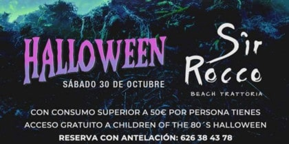 Children of the 80's Halloween Pre Party at Sir Rocco Ibiza Fiestas