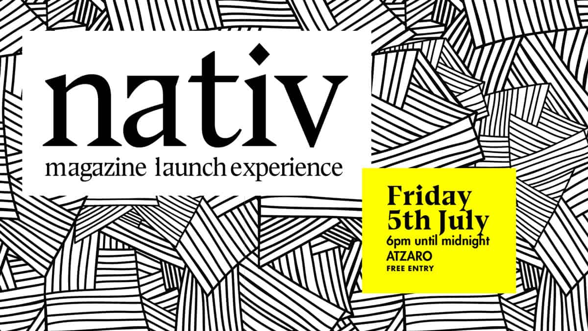 Präsentationsparty des Nativ Magazine in Atzaró Ibiza