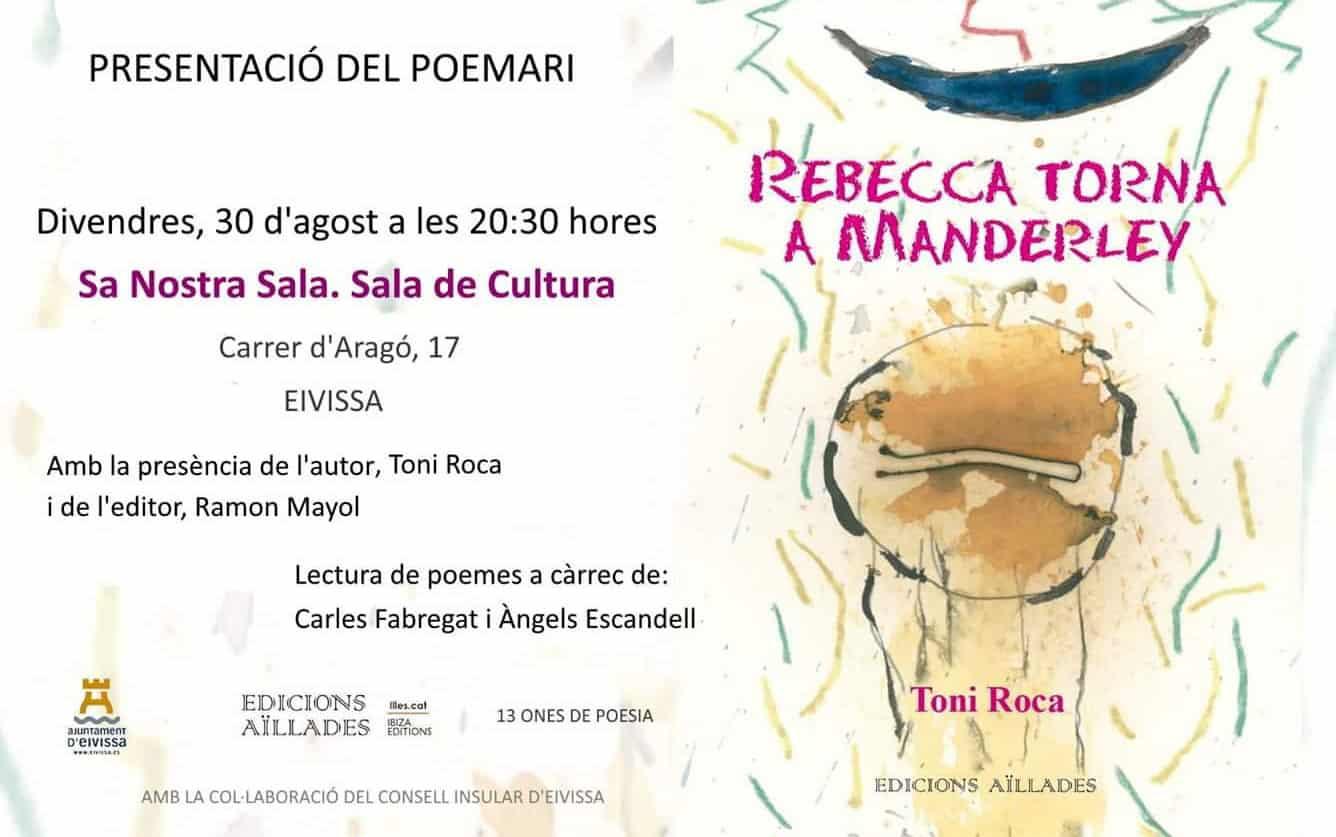 Toni Roca presenta su nuevo poemario en Sa Nostra Sala