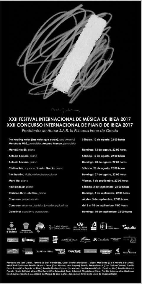 22 ans du festival international de musique et du concours de piano à San Carlos