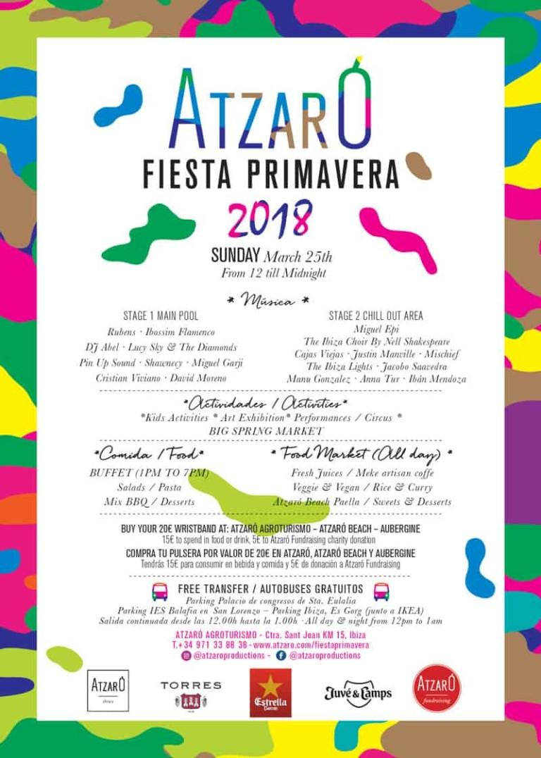 Das Frühlingsfest 2018 von Atzaró Ibiza