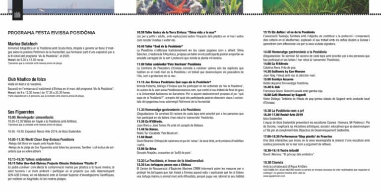 Fiesta Ibiza Posidonia: Tapas creativas y actividades familiares en Figueretas