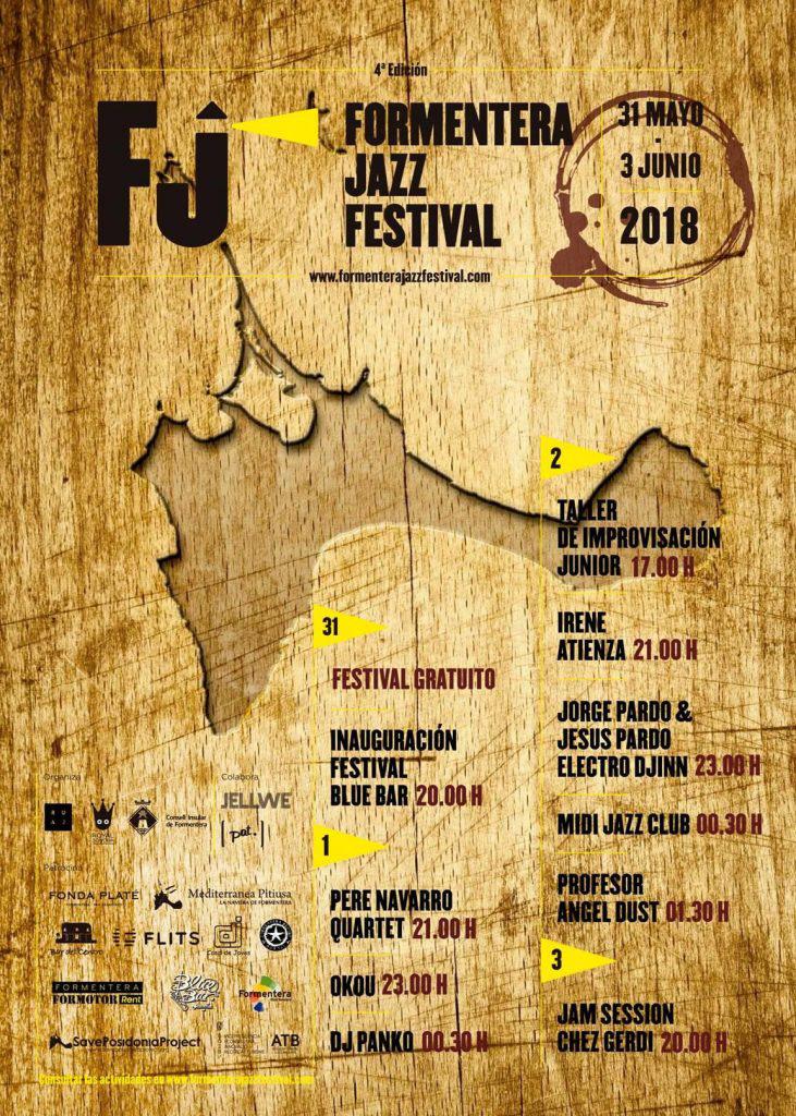Fin de semana para disfrutar de buena música con el Formentera Jazz Festival 2018