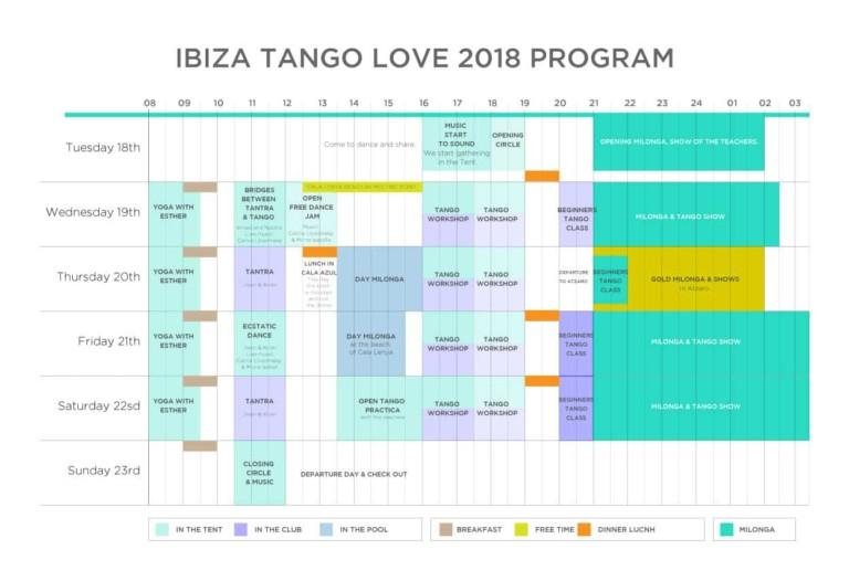 Cinco días de danza y pasión con Ibiza Tango Love 2018
