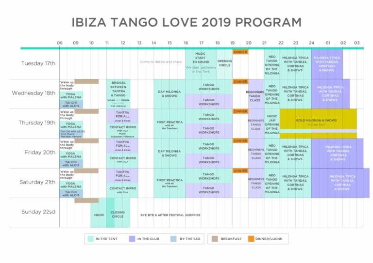 Ibiza Tango Love: Cinco días de danza en Cala Lleyna