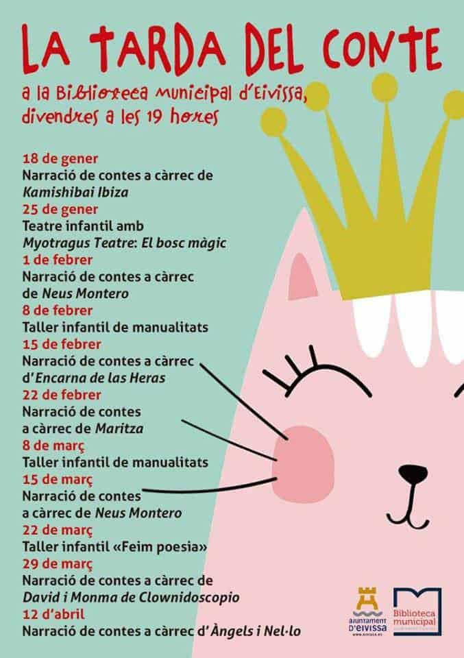 La Tarda del Conte: storytelling in the Library of Ibiza
