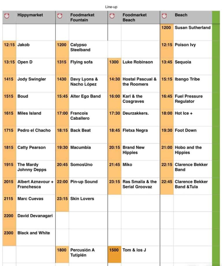 Концертное воскресенье с Днем игры за перемены 2018 в Кала Ллонга