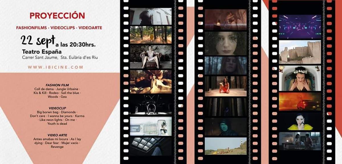 Projection de films de mode