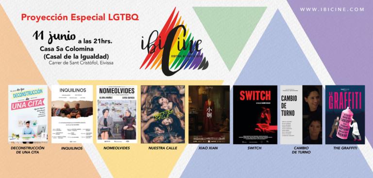 Spezielles LGTBQ-Screening von Ibicine vor Ibiza Gay Pride