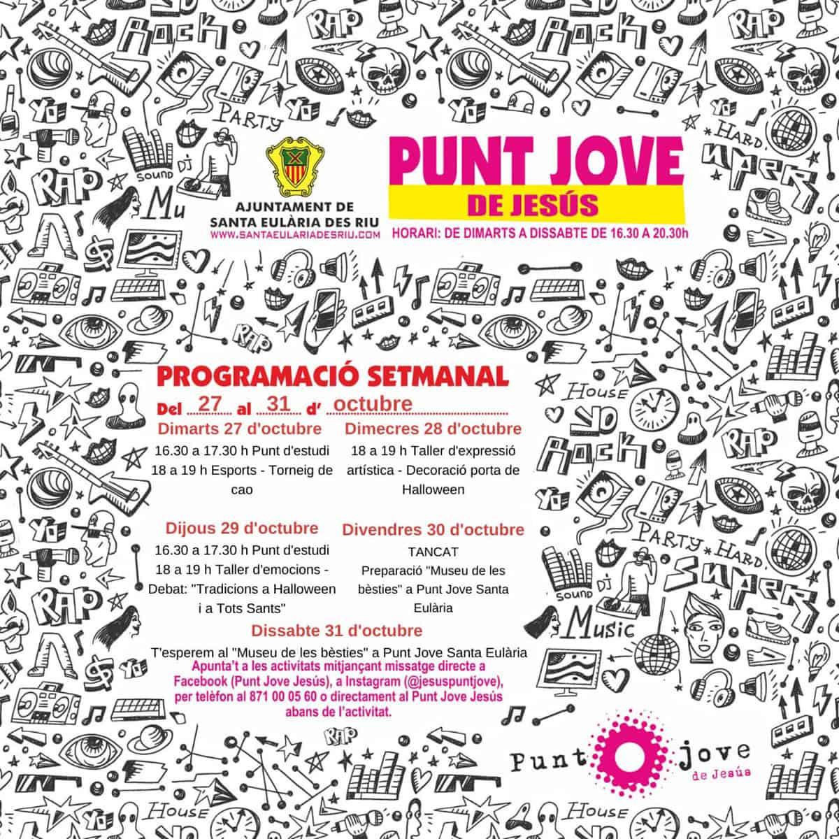 punt-jove-jesus-ibiza-2020-programa-halloween-welcometoibiza