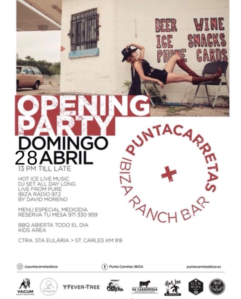 Punta Carretas Ibiza Opening Party