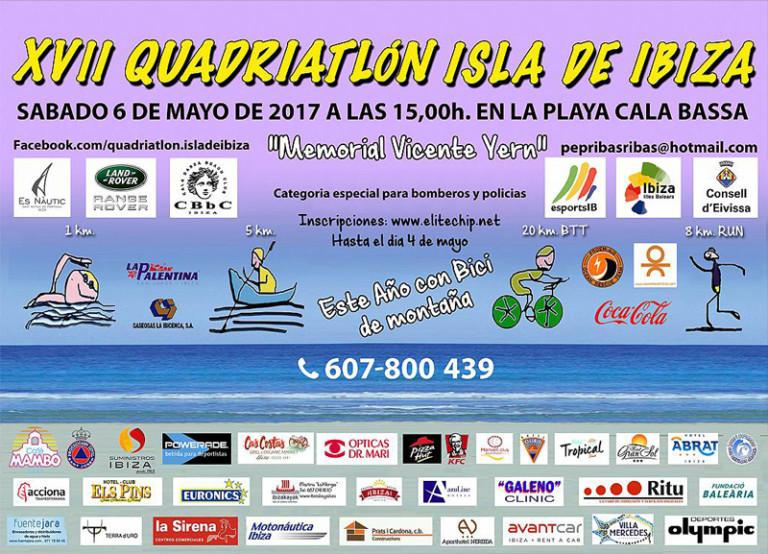 XVII Quadriatlon Isla de Ibiza 2017