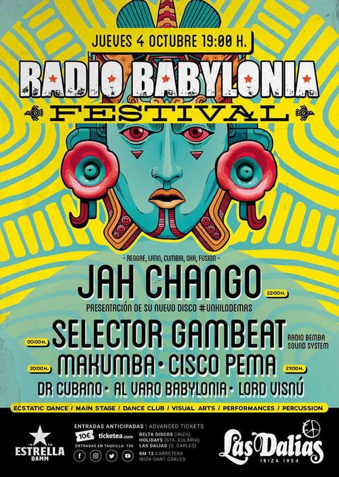 Radio Babylonia Festival in Las Dalias Ibiza