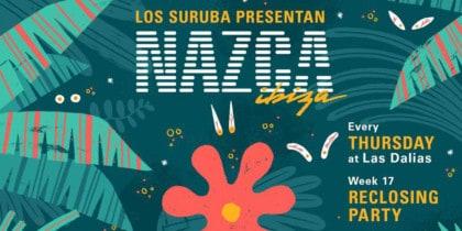 Reclosing Party de Los Suruba presenten a Las Dalias Eivissa Lifestyle