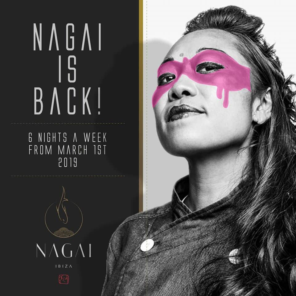 The Nagai Ibiza restaurant reopens its doors