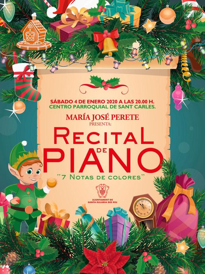 Concert de piano de María José Perete à San Carlos