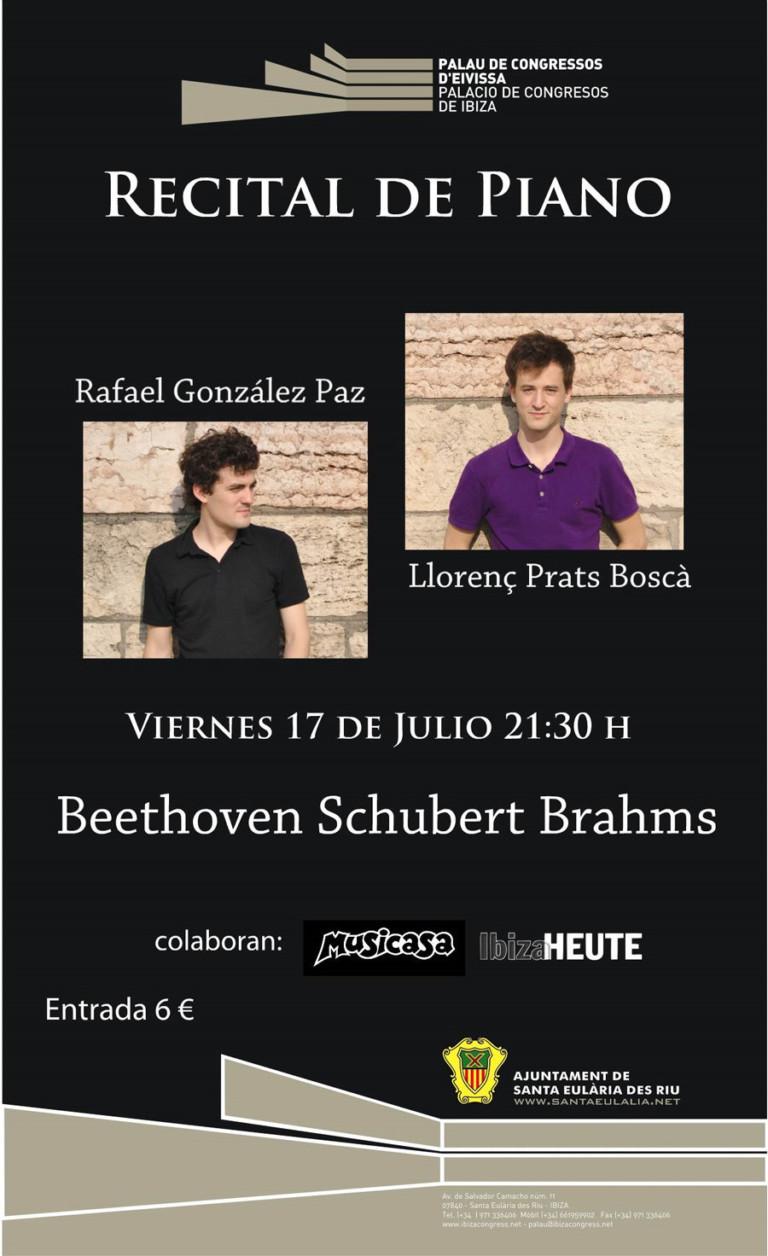 Klavierabend im Palacio de Congresos de Ibiza