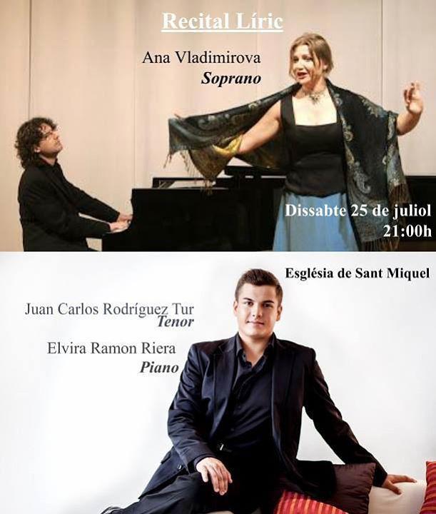 Liederabend am Samstag in San Miguel