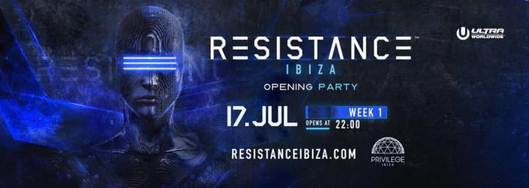 Apertura della Resistenza 2018 al Privilege Ibiza