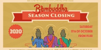 Образ жизни закрытия сезона Бамбудды