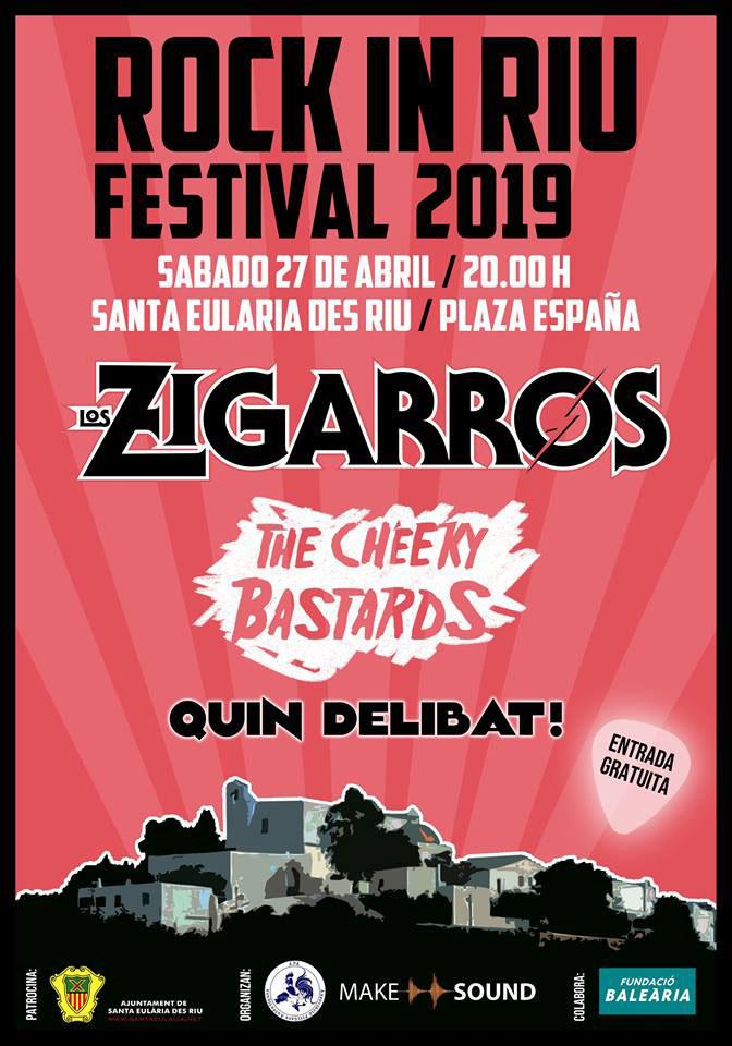 Лос-Зигаррос на фестивале Rock In Riu 2019