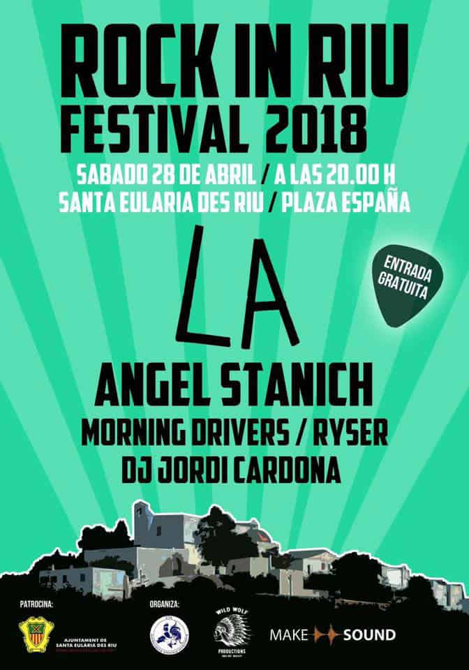 Лос-Анджелес и Ангел Станич на фестивале Rock In Riu 2018