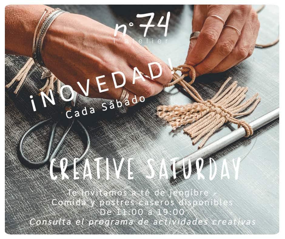 Творческие субботы в номере 74 L'Atelier Ibiza