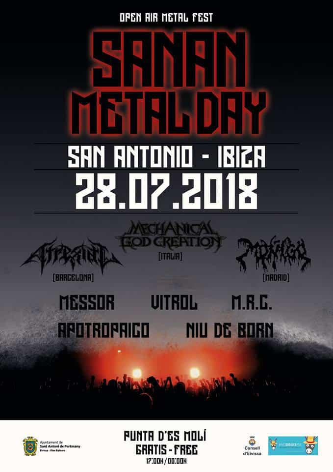 Sanan Metal Day: Metallfestival im Freien in Sa Punta des Molí