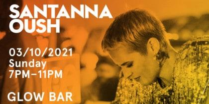 Santanna Oush on Sunday at W Ibiza Lifestyle