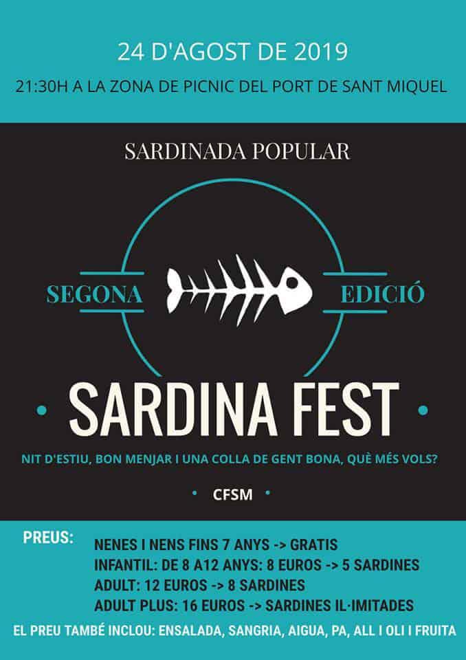 Sardina Fest: Sardinada populaire dans le port de San Miguel